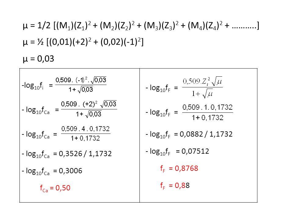 μ = 1/2 [(M1)(Z1)2 + (M2)(Z2)2 + (M3)(Z3)2 + (M4)(Z4)2 + ………..]